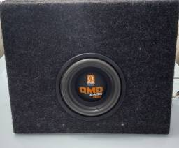 """Sub  de 8"""" polegadas Omega Drive 300 RMS"""