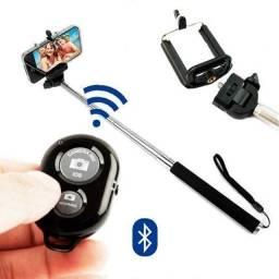 Bastão De Selfie Com Bluetooth Para Celular