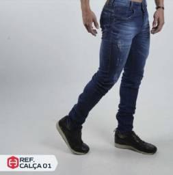 Calças e bermudas jeans masculina