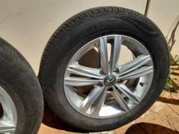 Jg rodas Novo Polo com pneus