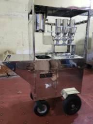 Maquina de churros inox estilo tucano