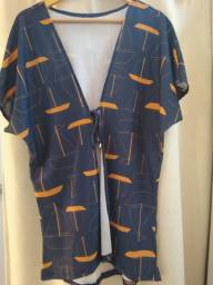 Saida de praia - kimono tam m