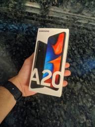 Samsung A20 com display quebrado