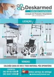 Locação e vendas de equipamento hospitalar