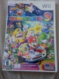 Mario Party 9 Europeu Wii aceito troca