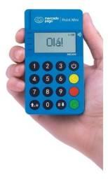 Maquininha de cartão, máquina de cartão Point Mini com aproximação, Lançamento