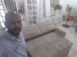 Sofá SUJO ??? Limpeza de sofá !!!