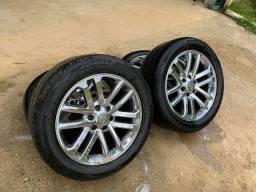 Rodas/pneus aro 20 Hilux/s10/l200 Triton