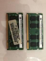 Memória Notebook 4gb DDR2