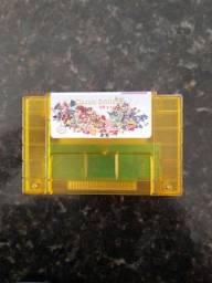 Cartucho Super Nintendo 68 em 1