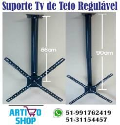 Suporte Tv Teto Giro 360 de 10 a 55 Polegadas Supratick (LED, LCD e Plasma)