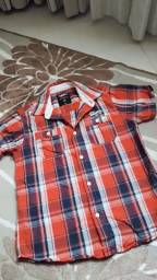 Camisa xadrez hotwheels