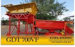 Equipamento para Mineração - Tromel Planta de Lavagem GDT700VF GoldDog