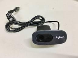 Webcam Logitech C270, HD, Usado 3 meses de garantia .