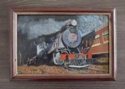 Quadro: Locomotiva 505 - Pintura Óleo