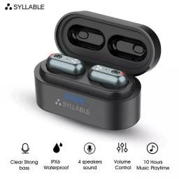 Fone Syllable s101 Tws Sem Fio Bluetooth 5.0