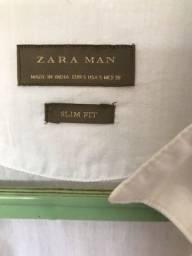 Vendo Camisa Zara Slim Fit SEM USO