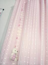 Cortina para quarto de menina
