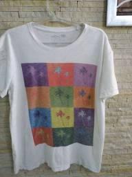 Camiseta masculina marca Osklen GG