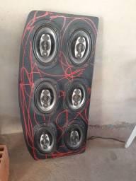 Tampão de som do corsa hatch
