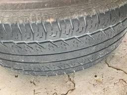 Roda frontier aro 16 com pneus seminovos