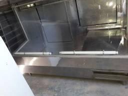 Vendo balcão inox açougue refrigerado