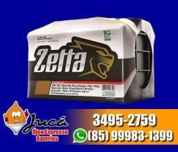 Bateria Zetta 60AH - a bateria ideal pro seu GOL !!!!!