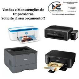 Vendas e Manutenção de Impressoras