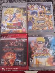 Jogo PS3 Original 50,00 cada jogo