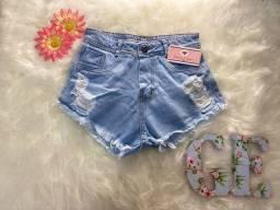 Short jeans (Novo),  TAM 38, Apenas 40 reais