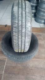 4 pneus Goodyear 175/70/13 bem novinhos dois meses de uso só