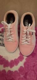 Tênis da vans rosa novo