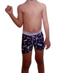 Kit 05 Cuecas Boxer infantil por apenas R$: 35,00 (leia o anuncio)
