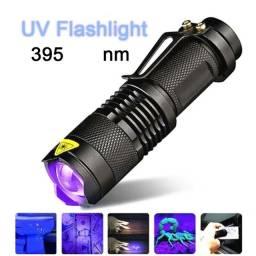 lanterna luz negra led