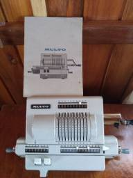 Relíquia !!! Calculadora Sueca anos 50 funcionando !!!