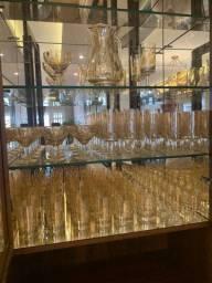 66 Taças de Cristal Hering (Podemos negociar separadamente)