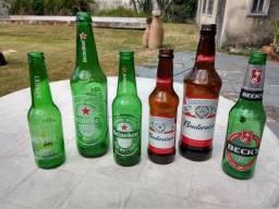 Garrafas Heineken Vazias<br><br>
