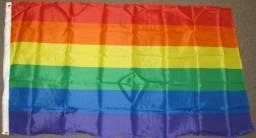 Bandeira Parada Gay Lesbicas Lgbt Bisexual Transgênero 150cm x 90cm