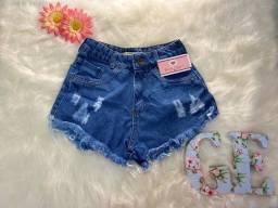 Short jeans Estiloso TAM 38 e 40 apenas 45 reais