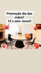 Promoção Dia das Mães!!   Conjunto de mesa 4 cadeiras