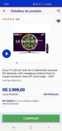Smart tv led 49 UHD 4k nanocell