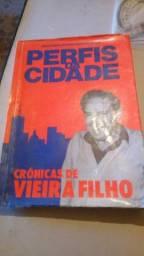 Livro perfis da cidade - cronicas de vieira filho