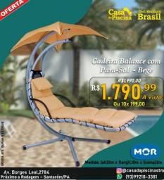cadeira balance com para-sol - MOR