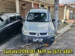 Renault kangoo 1.6 flex/Gnv 7 lugares 2009