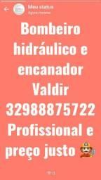 BOMBEIRO HIDRÁULICO E ENCANADOR