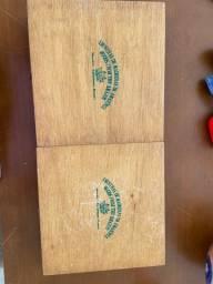Caixas de Amostras de Madeira da Amazônia