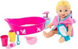 Boneca Little Mommy - Brincadeira na Banheira - Mattel