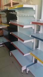 #GO - Gôndolas e equipamentos pra comercio em gera.l