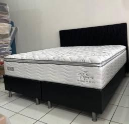 Colchão Queen Molas Suporte de Peso 150Kg por Pessoa!!!!