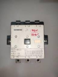 Contator trifásico Siemens 75V 220VAC 3TF52 22-OXN2